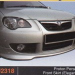 PROTON PERSONA FRONT SKIRT ELEGANCE (PU2318)