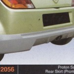 PROTON SAVVY REAR SKIRT PROMOTE (PU2056)