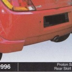 PROTON SAVVY REAR SKIRT R3 (B0996)