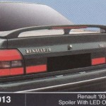 RENAULT 93-98 SPOILER WITH LED OEM (M013)