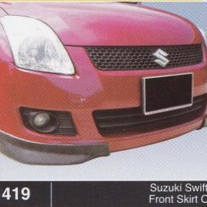 SUZUKI SWIFT 08 FRONT SKIRT OEM (B1419)