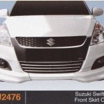 SUZUKI SWIFT 13 FRONT SKIRT OEM (PU2476)