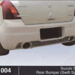 SUZUKI SWIFT REAR BUMPER SWIFT SPORT (B1004)