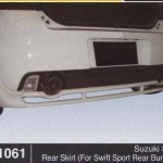 SUZUKI SWIFT REAR SKIRT FOR SPORT REAR BUMPER (B1061)