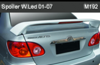 TOYOTA ALTIS 01-07 SPOILER WITH LED (M192)