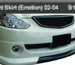 TOYOTA CALDINA 02-04 FRONT SKIRT EMOTION (B1006)