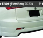 TOYOTA CALDINA 02-04 REAR SKIRT EMOTION (B1008)