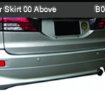 TOYOTA ESTIMA REAR SKIRT 00-ABOVE (B0939)