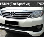 TOYOTA FORTUNER FRONT SKIRT (PU2479)