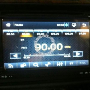 OEM Toyota Car DVD Player with GPS