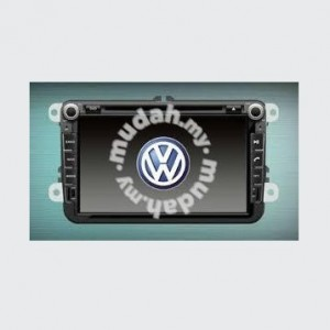 """Volkswagen oem 8"""" car dvd player with gps"""