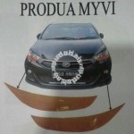 Perodua myvi 13 eyebrown Oren Original 1 PCS