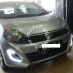 Perodua axia fog lamp with led drl light bar