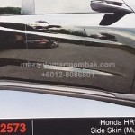 HONDA HRV 2015 SIDE SKIRT MUGEN (PU2573)