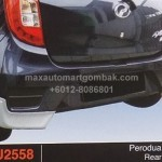 PERODUA AXIA REAR SKIRT