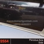perodua axia SE SIDE SKIRT
