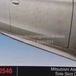 MITSUBISHI ATTRAGE SIDE SKIRT OEM (PU2546)