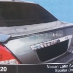 NISSAN LATIO SEDAN SPOILER IMPUL (M420)