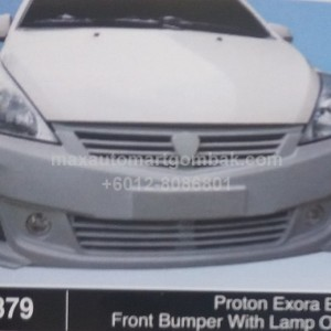 PROTON EXORA BOLD FRONT BUMPER WITH LAMP OEM (B1379)