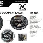 "AUDIO VIDEO MACHINE 6"" 3 WAY COAXIAL SPEAKER"
