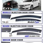 HONDA CITY INJECTION DOOR VISOR