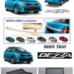 PERODUA BEZZA LIP SPOILER, BOOT TRAY