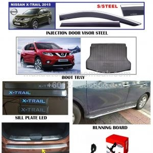 NISSAN X-TRAIL 2015 INJECTION DOOR VISOR, BOOT TRAY & ACCESSORIES