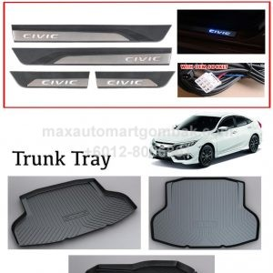 HONDA CIVIC 2016 SILL PANELS (LED), TRUCK TRAY