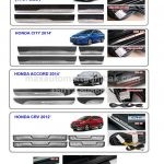 HONDA JAZZ / CITY / ACCORD / CRV / HRV SILL PANELS WITH LED