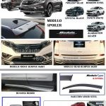HONDA CRV 2015 BODYKIT SET