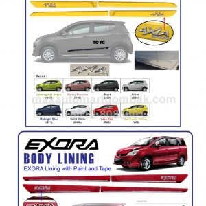 PERODUA AXIA BODY LINING WITH PAINT