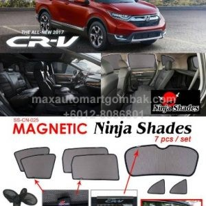 Honda Magnetic Ninja Shades 7 Pieces Set