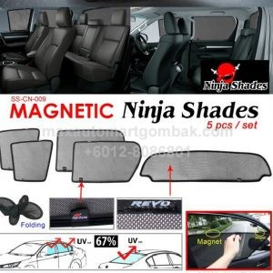 Magnetic Ninja Shades 5 Pieces Set