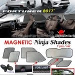 Toyota Fortuner Magnetic Ninja Shades 7 Pieces Set