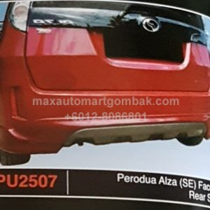 PERODUA ALZA (SE) FACELIFT REAR SKIRT PU2507