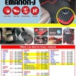 Emanon-J EVA Fitted Car Mat for all Vehicle