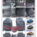 Emanon-J 4x4 Digital Fit Floor Mats